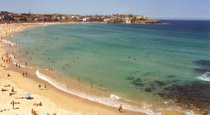 Bondi Bay and Ben Buckler