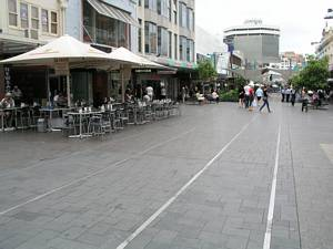 Tram Tracks Bondi Junction Mall Sydney - Oxford Street