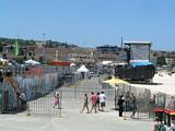 NYE at Bondi Beach 2010 Stage Build
