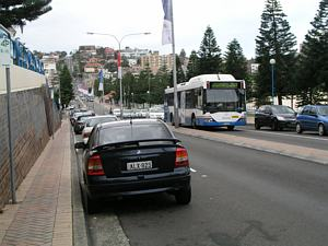 Coogee tram route - Arden Street - Sydney tramway remnants