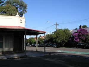Moore Street Annandale - old Sydney tram route