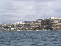 Ben Buckler, Bondi Beach from the ocean - Nov 2012