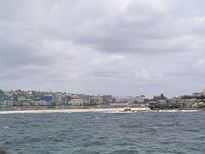 Mermaid Rock, Bondi Beach from the ocean - Nov 2012