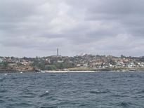 Bronte Beach from the ocean - Nov 2012