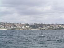 Tamarama Beach from the ocean - Nov 2012